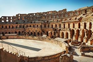 Il Colosseo visto dall'interno (Roma)