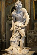 David, Bernini, Galleria Borghese, Roma