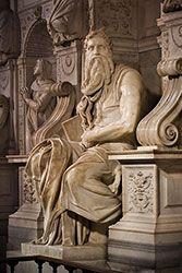 La statua del Mosè di Michelangelo