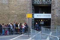 Fila ai Musei Vaticani, Città del Vaticano, Roma
