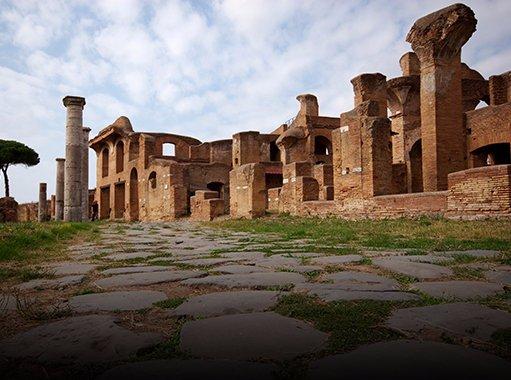 L'area archeologica di Ostia Antica